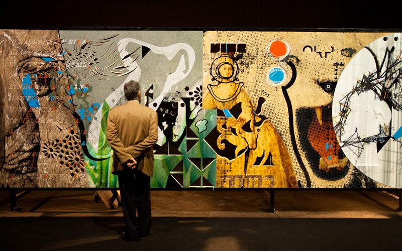 «Δάπεδο» 2010: Μαρμάρινη Τοιχογραφία